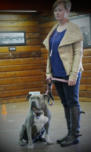 Ashleigh-and-her-pitbull-Lola
